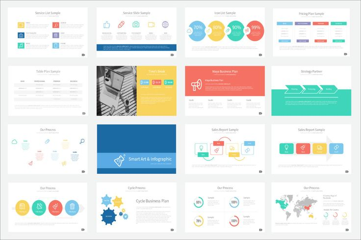 Check out Maya Presentation Template by Ryanda on Creative Market