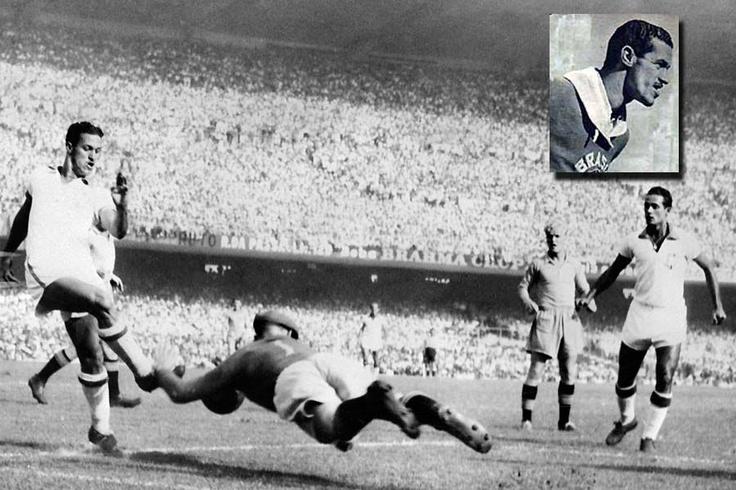 Ademir ,9 scores,1950 World Cup Brazil
