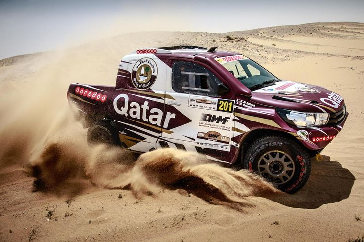 The reigning World Champion triumphs at home race, South African Leeroy Pouler claims an impressive third place at his debut in a Middle East rally raid. | EVO Corse Racing Wheels #evocorse #evocorsewheels #qccr #nasseralattiyah #toyotahilux #dakarwheels #overdriveracing #followus