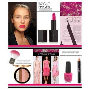 Bright Pink Lips'