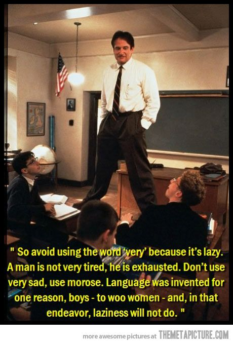 Great quote from a great movie!