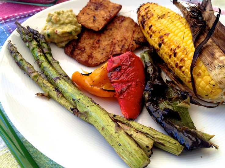 Great ideas for vegan/vegetarian barbecues at Little Green Kettle