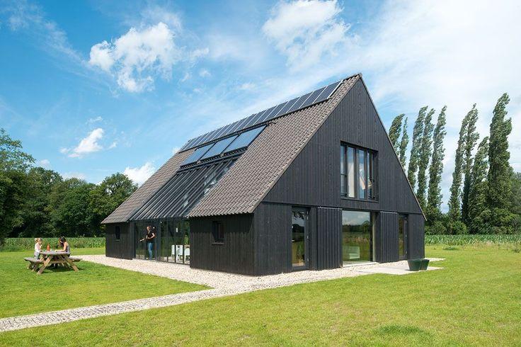 Moderne vormgeving boerderij boerderij renovatie architectuur pinterest architecture barn - Moderne kleur huis ...