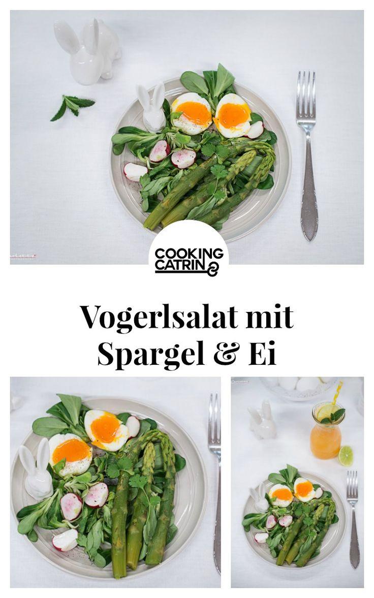 Vogerlsalat, Spargel, Ei, Frühlings Salat, gesund, Salat Rezept, Salat gesund, salad, spring salad Spargelsalat, healthy salad, salad with egg, asparagus, egg, asparagus salad, LC recipe, low carb, low carb rezept, low carb recipe, lunch, dinner, healthy lunch, mittagessen gesund, dinner gesund...http://www.cookingcatrin.at/vogerlsalat-mit-spargel-radieschen-eiern/