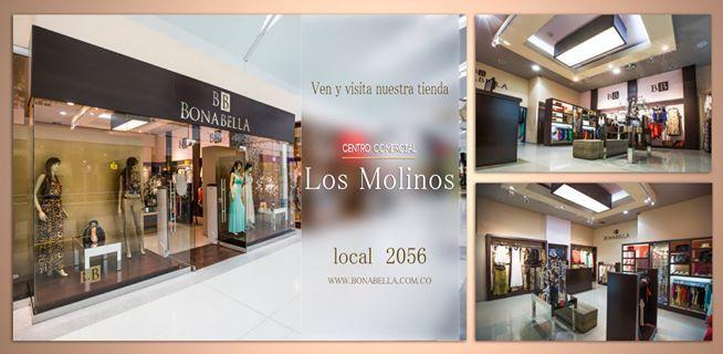 Visítanos en el Centro Comercial Los Molinos.