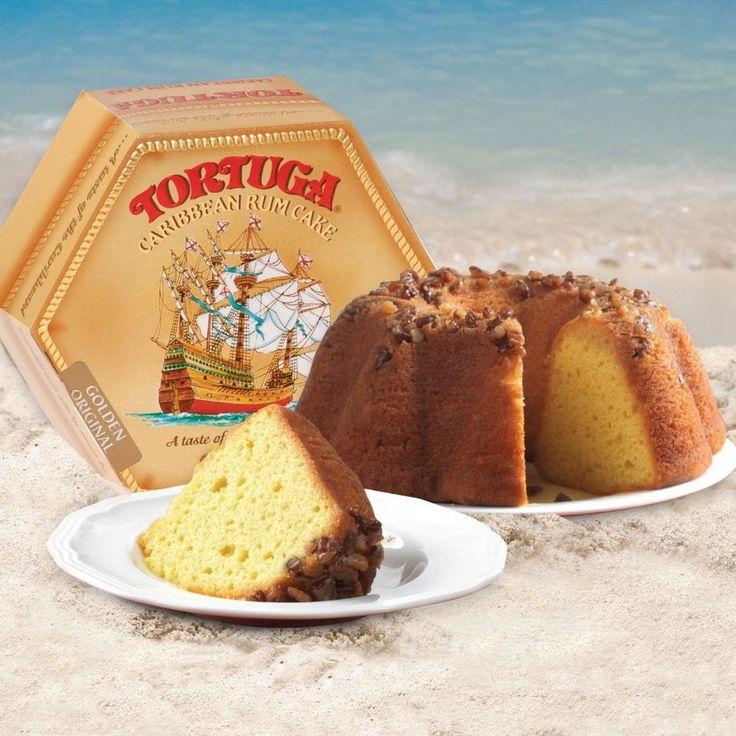 Tortuga Original Caribbean Rum Cake, 16-Ounce Cake, New, Free Shipping #TORTUGA