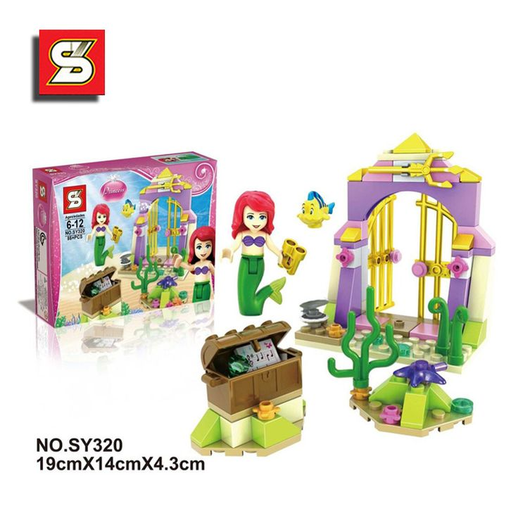 2016 new S brand girl scenarios Assembling building blocks educational Action toy Figures mermaid SY320 //Price: $US $5.88 & FREE Shipping //     #clknetwork