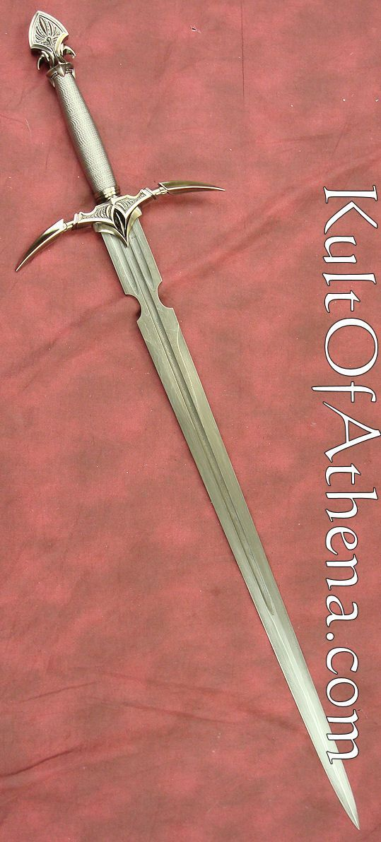 Kit Rae Anathros Sword Damascus Edition. From the Swords of the Ancients collection, this is the sword of the earth.: