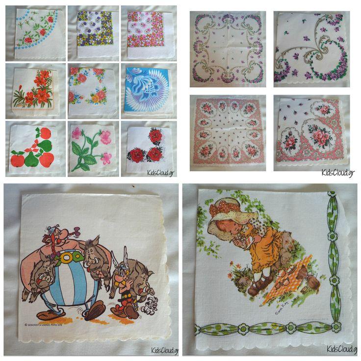 Η συλλογή μου με τις χαρτοπετσέτες- Ταξίδι στο χρόνο! :) - KidsCloud.gr