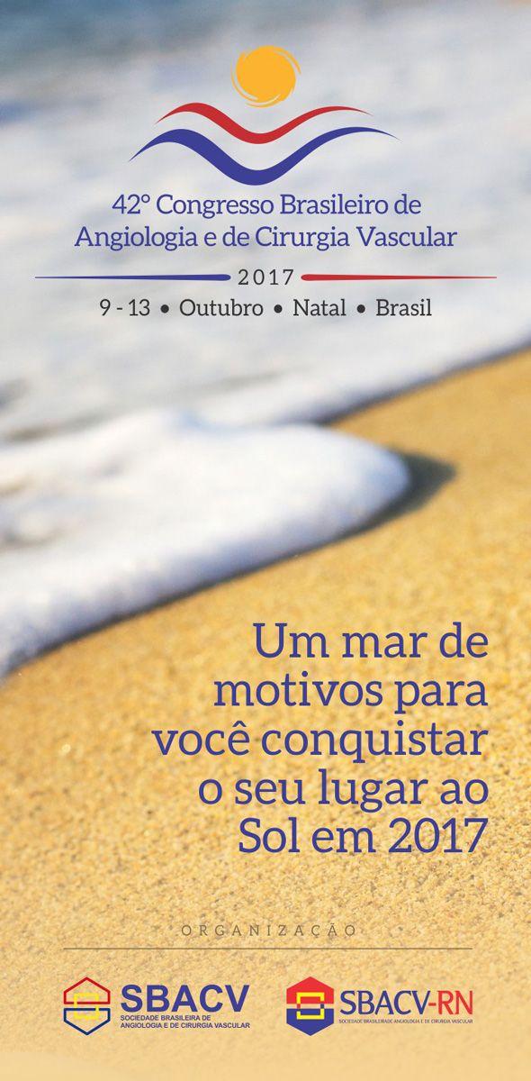 42º Congresso Brasileiro de Angiologia e de Cirurgia Vascular - SBACV