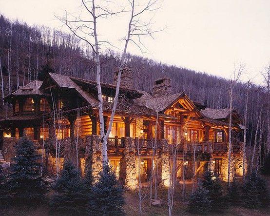 Stunning: Log Homes, Dream Homes, Dream House, Log Cabins, Log Dreams, Loghomes, Design