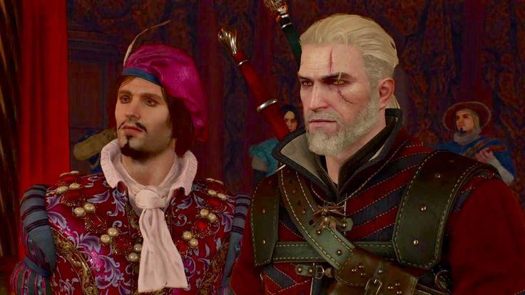 Geralt and Dandelion- Witcher 3