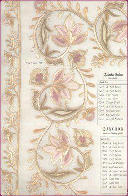Yukarıdaki desenler YUMAK'ın El-Makine Nakışı Desen Dergisi'nin 19. sayısından alınmıştır. Kolay gelsin.