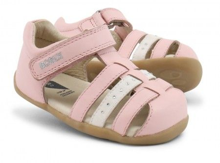 Bobux Step Up Jump Peony Pink Sandals - Bobux - Little Wanderers
