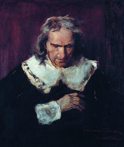 Munkácsy :  Milton   1877