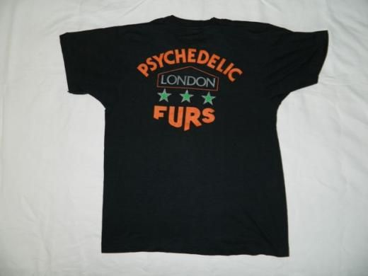 Vintage Circus Magazines/ Psychedelic Furs | VINTAGE PSYCHEDELIC FURS LONDON 80S T-SHIRT ORIGINAL new wave tour ...