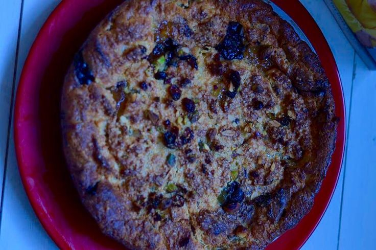 Jamie's bonkers panettone bread and butter pudding www.stemandginger.co.uk