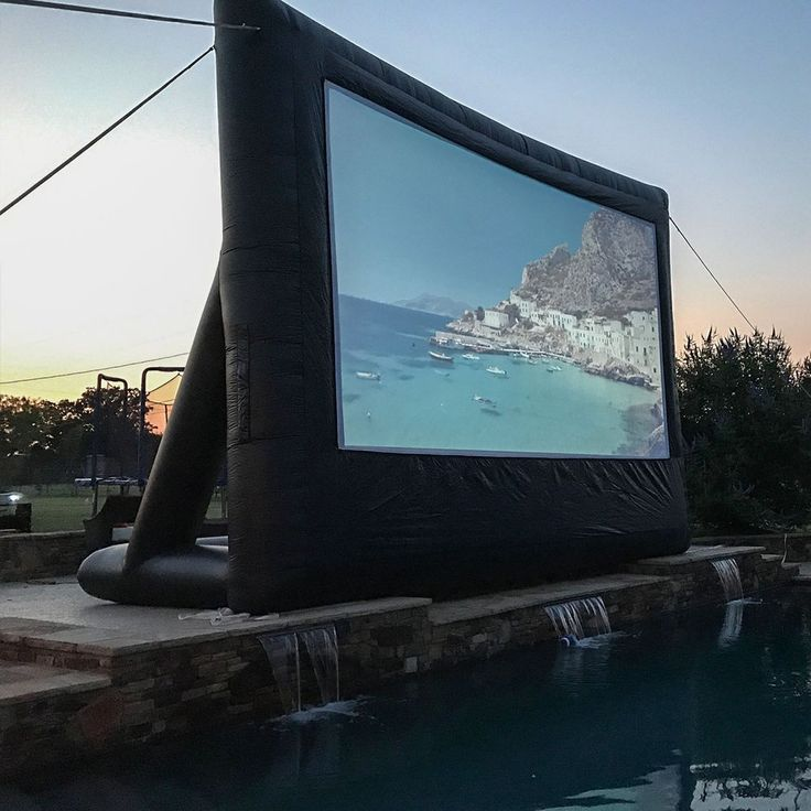 Event pro outdoor movie screen kit 20 outdoor movie