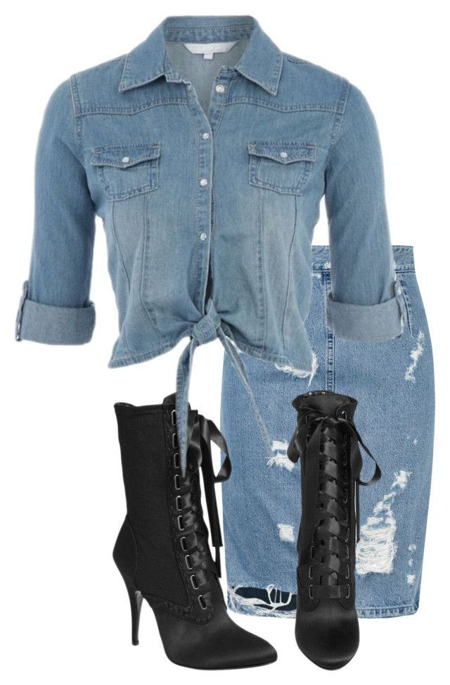 """Untitled #2943"" by xirix ❤ liked on Polyvore featuring Acne Studios and Giuseppe Zanotti"