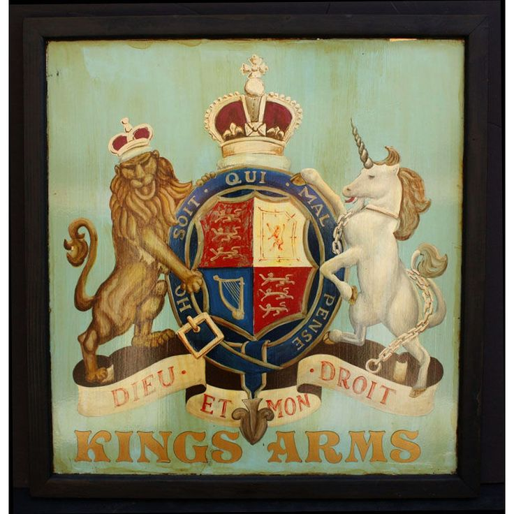 British pub signs #bestofbritish Not all the water in the rough rude sea Can wash the balm from an anointed king (Richard II play)