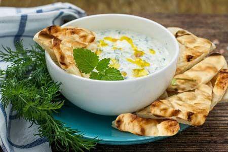 Greek Cucumber Dill Sauce or Dip (Tzatziki Sauce)