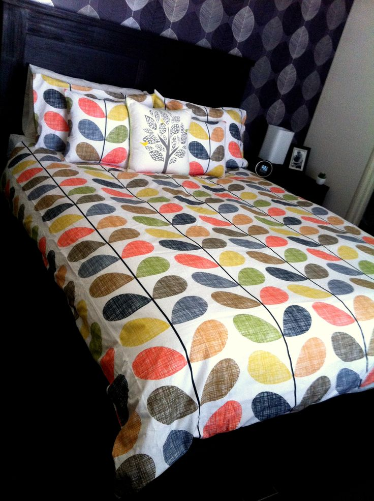 Our customer Kelli shared this picture of her gorgeous Orla Kiely Scribble Stem Quilt Cover - gorgeous!! http://www.se10gallery.com.au/scribble-stem-duvet-set-with-2-pillow-cases