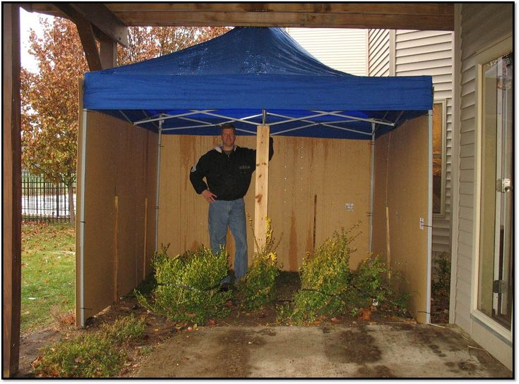 Covered Potty Area For Wind Rain And Snow Outdoor Dog Area Dog Potty Area Dog Potty