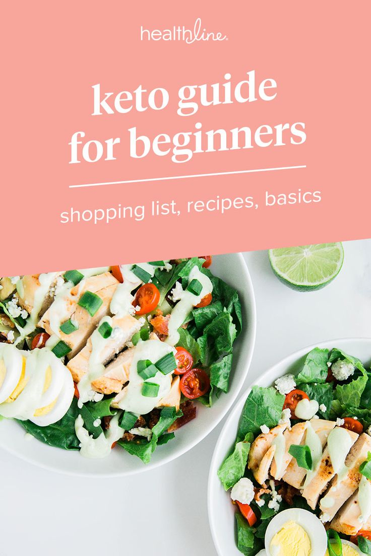 Keto Shopping List: Recipes, Meal Plan, Keto-flu, Benefits, and More