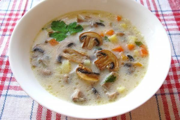 Суп с шампиньонами http://citywomancafe.com/cooking/20/06/2015/sup-s-shampinonami
