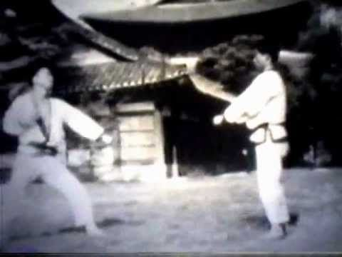 Vintage Tang Soo Do film showing the training and most of the forms or katas up to 4th Dan which is considered a Master. Hwang Kee, the founder and Grand Master of Moo Duk Kwan Soo Bahk Do (Tang Soo Do), performs the advanced forms and breaking techniques. This video is the Real Art and it shows the historical origins of the Northern and Southern Shaolin forms that Hwang Kee incorporated in Tang Soo Do. This is an incredible treasure!!!