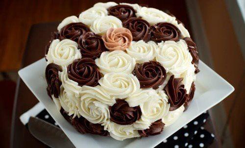 Украшения из крема для тортов и пирожнх
