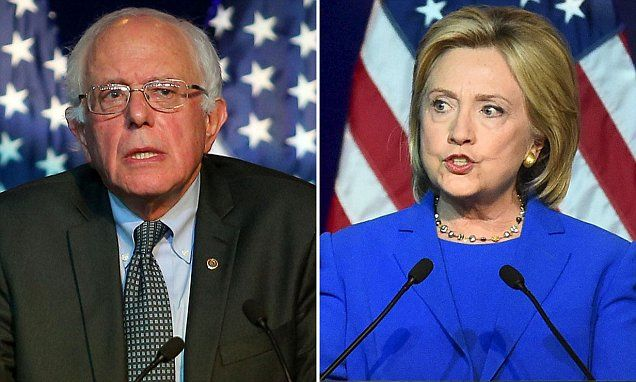 Bernie Sanders gains on Hillary Clinton in latest Iowa poll | Daily Mail Online