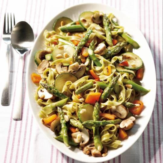 Recept - Pasta Primavera - Boodschappenmagazine
