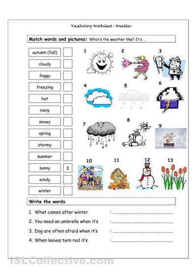 25 best ideas about weather worksheets on pinterest seasons kindergarten weather for kids. Black Bedroom Furniture Sets. Home Design Ideas