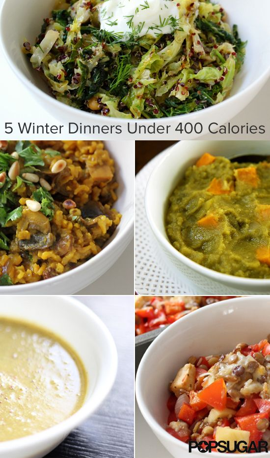 Warming winter dinners under 400 calories cabbages for Winter entrees