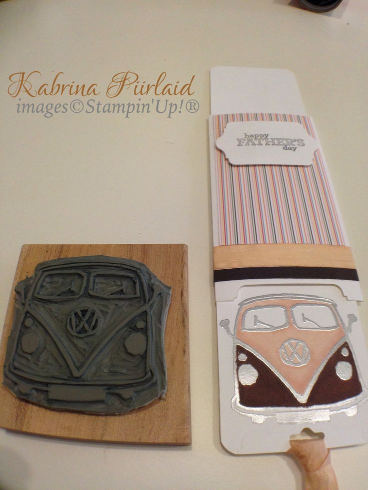 By Kabrina Piirlaid | Just Add Ink | Kombi | Undefined stamp carving kit | Stampin' Up!