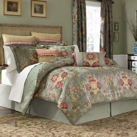 Croscill Adelia Bedding Collection Bit The Bullet And