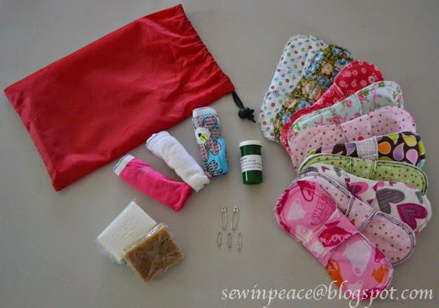 Sew in Peace: Cloth Feminine Pad Tutorial. Donate pads so girls in Haiti can stay in school.