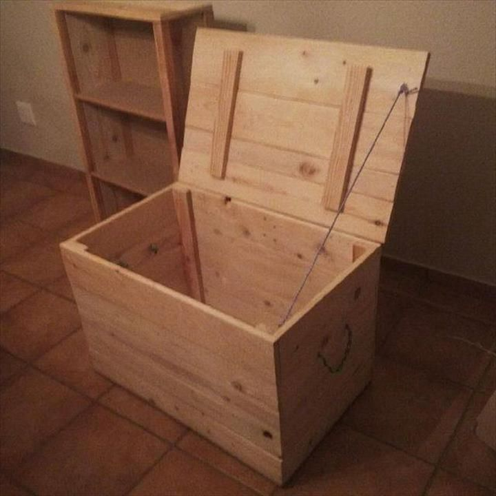 Pallet Toy Box - Storage Chest | Pallet Furniture