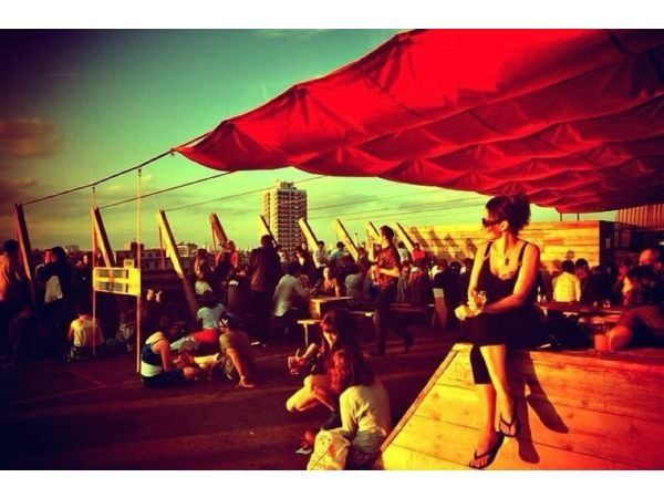 It must be summer because Frank's Cafe  Campari Bar is BACK, providing you with the perfect rooftop experience alongside an excellent selection of food and drink! | Daily throughout Summer | http://frankscafe.org.uk/