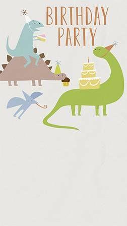 Birthday For Kids Free Online Invitations