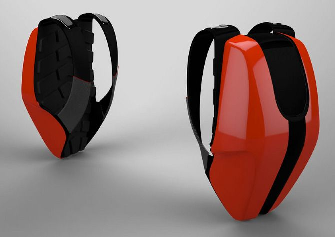 Motorcycle Backpack - www.marcovanella.com