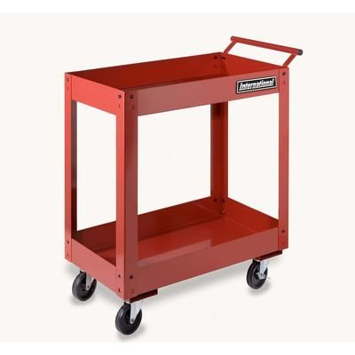 Home Depot.ca online only. $87.00 CAD International - 2 tray utility cart - UCE-2700RD - Home Depot Canada
