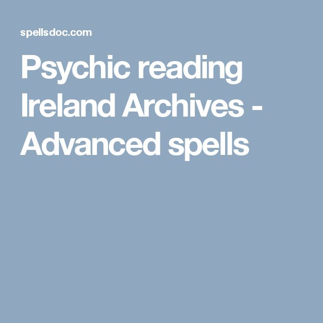 Psychic reading Ireland Archives - Advanced spells