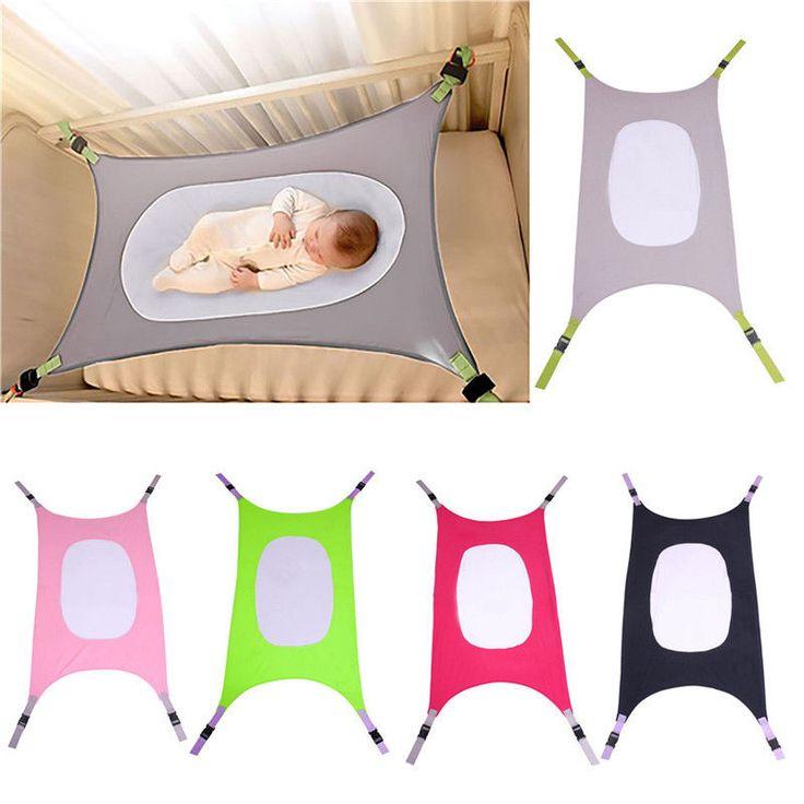 Baby Hammockborn Baby Infant Bed Cot Elastic Detachable Baby Cribs Safe