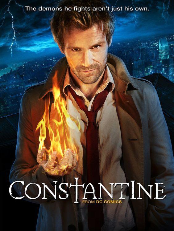 Constantine (2014) Cast: Matt Ryan, Charles Halford,  Harold Perrineau, Angelica Celaya, etc  #SaveConstantine