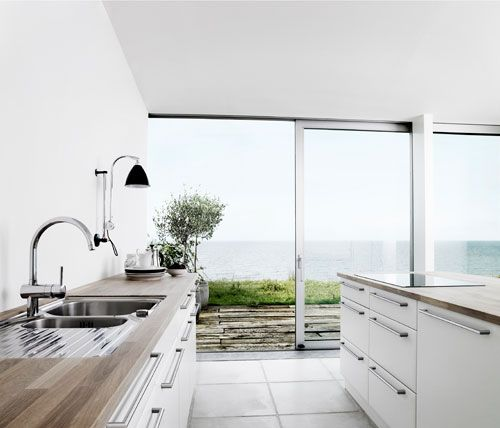 minimalist Danish design kitchens