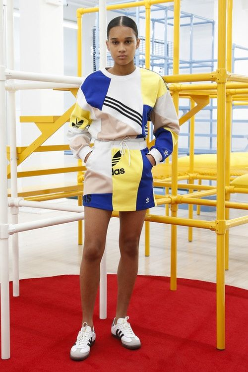 f516dec53eee43 Danielle Cathari x adidas Originals Drop 2 second collection where to buy  tracksuit jacket track pants dress shorts women's sportswear