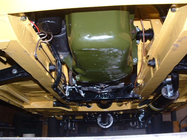 Engine from underneath