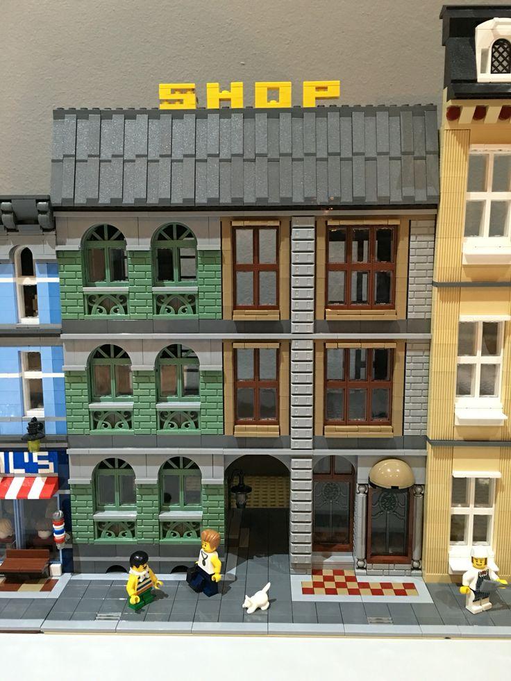 lego moc modular building instructions